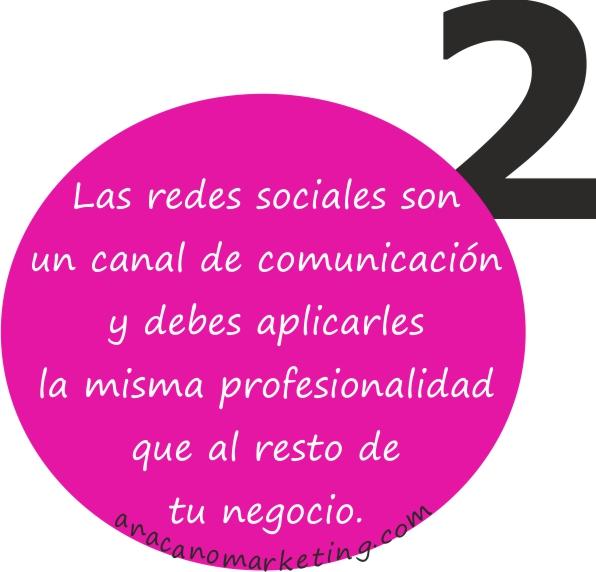 consejo 2 de redes sociales