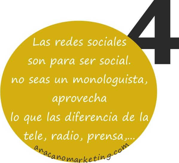 consejo 4 de utilización de redes sociales