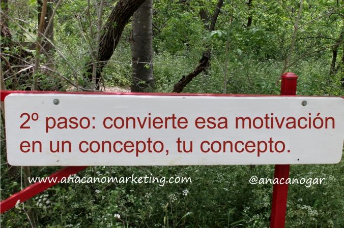 la motivación del cliente es el concepto que tu vendes